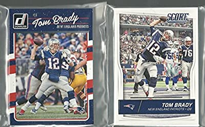 2016 Panini Donruss & Score Football New England Patriots 2 Team Set Lot 27 Cards W/Rookies And Rated Rookies