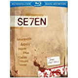 Seven - Edition collector limit�e. Inclus 7 comics books illustrant les 7 p�ch�s capitaux + 1 livret [Blu-ray]par Morgan Freeman