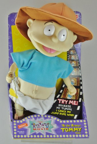 To the Rescue Tommy Pickles the Rugrats Movie Plush (Tommy Pickles Plush compare prices)