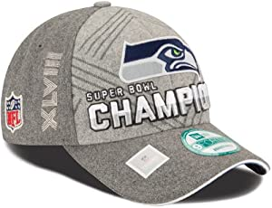 Buy Seattle Seahawks Super Bowl XLVIII Champions New Era 9FORTY Locker Room Hat by Unknown