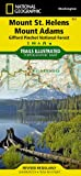 National Geographic Maps Mount St. Helens/Mount Adams (Gifford-Pinchot National Forest) Trails Illustrated Other Rec. Areas