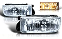 Winjet 92-98 Bmw E36 Oem Fog Light Clear by Winjet