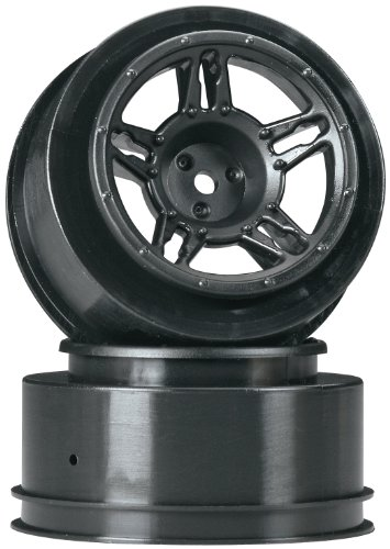 Duratrax SC Wheel Black Slash Blitz SCRT10 (2-Piece) - 1