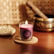 Resonance Meditation Candles - Crown Chakra Natural Wax Voltive Candle
