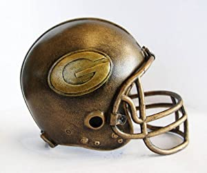 NFL Green Bay Packers Desktop Helmet Statue by Wild Sports
