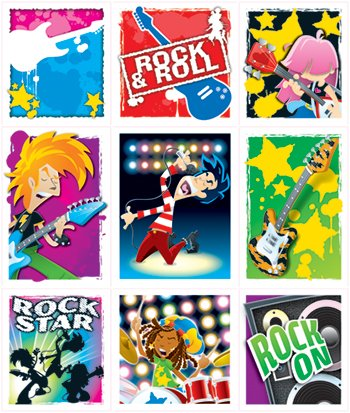 20 Pack CARSON DELLOSA ROCK STARS STICKERS