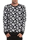 The Nightmare Before Christmas Jack Skellington Sweatshirt Size : X-Large