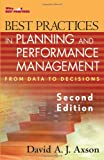 img - for Best Practices in Planning and Performance Management: From Data to Decisions (Wiley Best Practices) book / textbook / text book