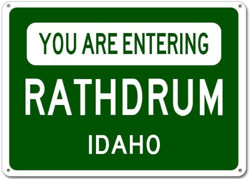 Rathdrum City Sign