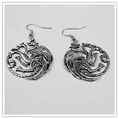 Game of Thrones Targaryen Dragon Earrings for women GT Costume jewellery