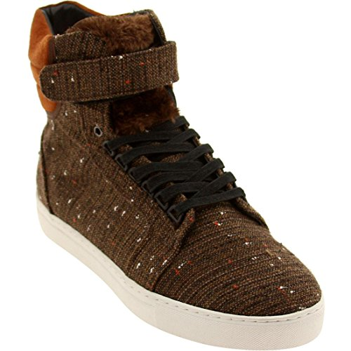 Android Homme Men's Propulsion High 1.5 (brown fur)-13.0