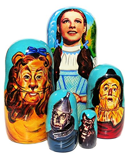 Wizard Of Oz Nesting Doll 5-Piece Set