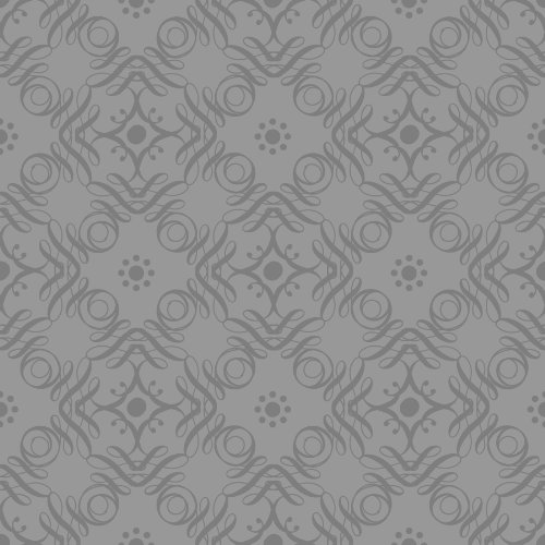 The Gift Wrap Company Deluxe Quality Flat Wrap, Platinum Tendrils