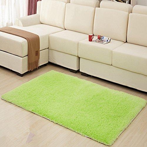 hughapy home decorator modern shag area rugs super soft solid living room carpet bedroom. Black Bedroom Furniture Sets. Home Design Ideas