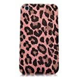 Xtra-FUnky Exclusive Leopard Print Textured Case Cover For Apple iPhone 3G & 3GS (iPHONE 3G - 3GS, Pink - Purple - Black)by Xtra-Funky