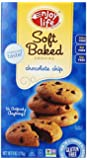 Enjoy Life Chocolate Chip Soft Baked Cookies, Gluten, Dairy & Nut Free,  6-Ounce Boxes (Pack of 6)