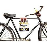 Six-Pack Bike Cinch (Bicycle Beer Carrier) Handmade by Hide & Drink :: Bourbon Brown