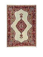 QURAMA Alfombra Persian Sarogh Rojo/Multicolor 158 x 102 cm