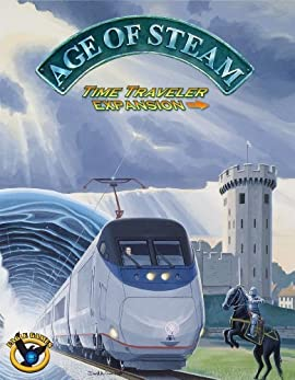 Eagle Games - Age Of Steam - Extension Time Traveler