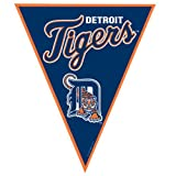 Amscan - Detroit Tigers Baseball Pennant Banner - Standard at Amazon.com