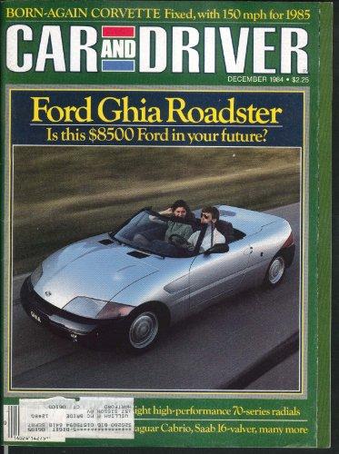 Car & Driver Chevrolet Corvette Subaru 4Wd Turbo Road Tests 12 1984