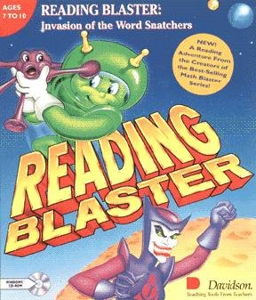 Reading Blaster, Invasion Of The Word Snatchers front-801805