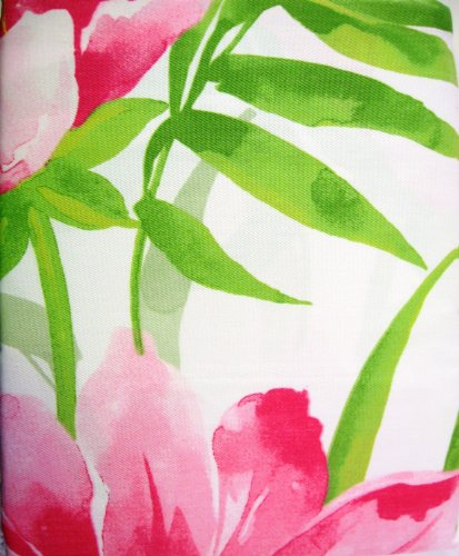 Tropical Shower Curtains | Tropical Fabric Shower Curtain Shower ...
