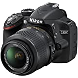 NIKON D3200 AF-S DX 18-55mm f/3.5-5.6 VR II Kit, Black