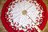 Moda Home Vintage Christmas Tree Skirt - Retro Santa