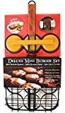 "Charcoal Companion Mini Burger ""Sliders"" Grilling Set"