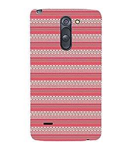 Pink Tribal Artistic 3D Hard Polycarbonate Designer Back Case Cover for LG G3 Stylus :: LG G3 Stylus D690N :: LG G3 Stylus D690