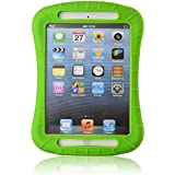 iXCC Shockproof Silicone Protective Case Cover for iPad Mini, Mini 2, Mini 3 and iPad Mini Retina Models - Green