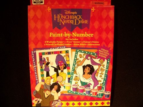 Disney's The Hunchback of Notre Dame Paint by Number