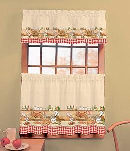 Chefs - Valance Kitchen Curtain
