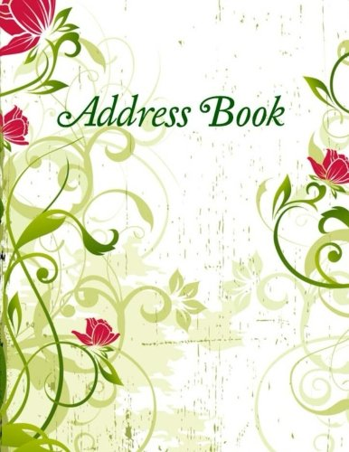 Address book simple and beautiful address books jumbo for Simple and beautiful
