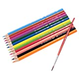 Faber - Castell Aquarelle Full Length Water Color Pencils (Pack Of 12)