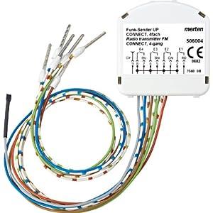 Merten 506004 FunkSender UP CONNECT, 4fach  BaumarktKundenbewertung und weitere Informationen