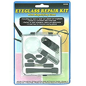 Glasses Repair Kit Maplin : Amazon.com: 24 Eyeglass repair kit