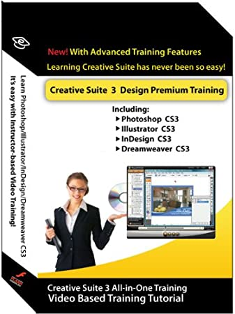Adobe Creative suite 3 Design Premium Training Courses (Photoshop, Illustrator, InDesign & Dreamweaver)