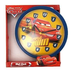 Hama 00106925 Horloge murale Cars (Bleu)