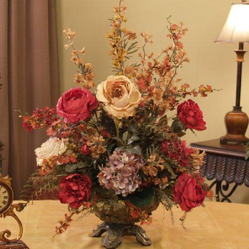Gold amp Flowers Wedding Cake  Rose Bakes