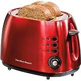 Hamilton Beach 2 Slice Metal Toaster, Candy Apple Red
