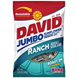 David Seeds,  Jumbo Sunflower Ranch Flavor, 5.25-Ounce Bag (Pack of 12)