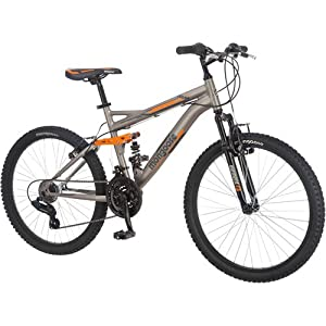 "Amazon.com : 24"" Mongoose Ledge 2.1 Boys Mountain Bike : Childrens"