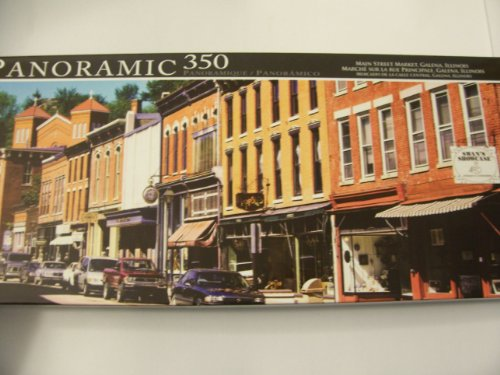 Panoramic 350 Piece Puzzle ~ Main Street Market, Galena, Illinois by LPF