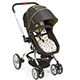 The First Years Wave Stroller, Black/Green