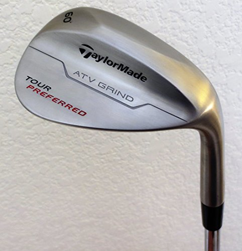 Mens TaylorMade Tour Preferred Forged Lob Wedge Golf Club L 60° KBS Steel Taylor Made
