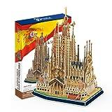 """CubicFun 3D Puzzle """"La Sagrada Familia - Barcelona"""""""