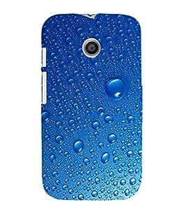 EPICCASE Water Droplets Mobile Back Case Cover For Moto E (Designer Case)