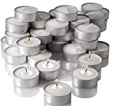 #7: TiedRibbons Unscented Tealight Candles Set of 50